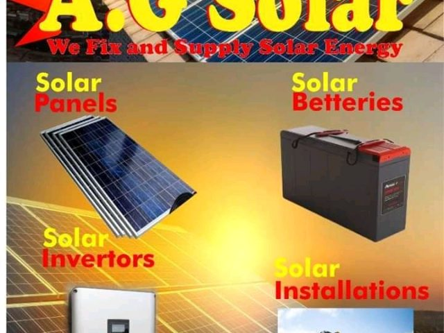 A.G. SOLAR SYSTEMS