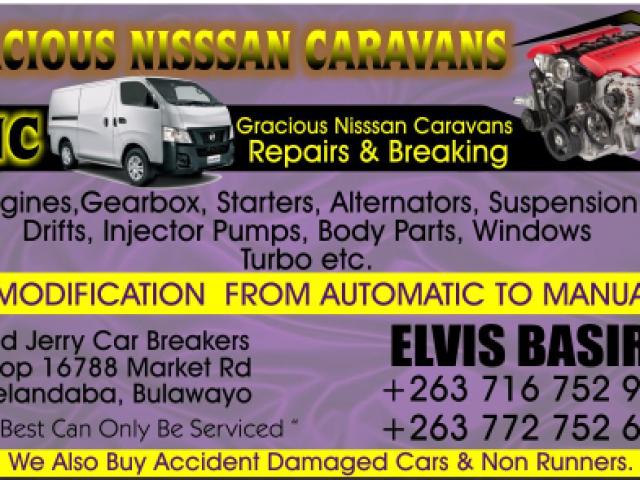 Gracious Nissan Caravans