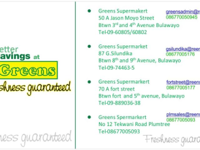 Greens Supermarkets
