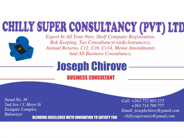 Chilly Supper consultancy