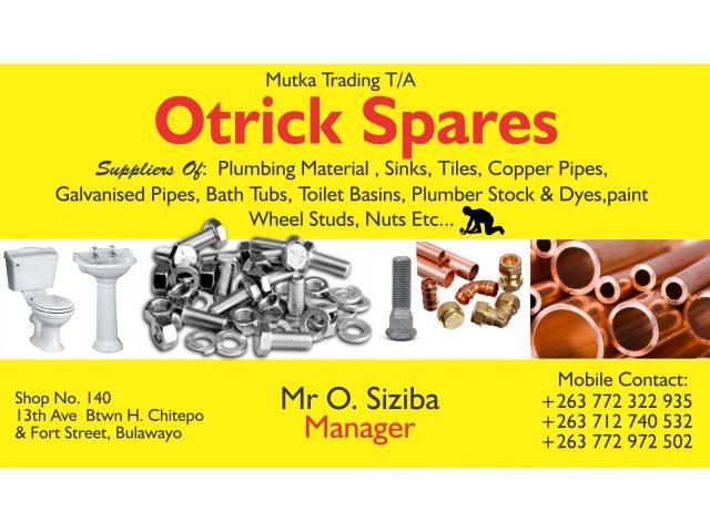 Otrick Spares